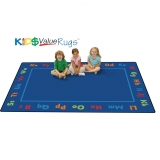 KID$ Value PLUS: Alphabet Value Rug