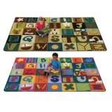 Alphabet Blocks Rug