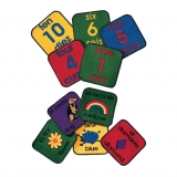 Bilingual Carpet Square Kits