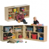 Birch Mobile Storage - Two Shelf