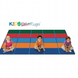 KID$ Value PLUS: Color Blocks Value Seating Rug