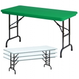 Correll Adjustable Folding Tables
