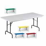 Correll Fixed Height Folding Tables