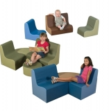 Cozy Woodland Contour Seating Groups