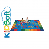 KIDSoft™ Alphabet Around Literacy Rug