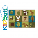 KIDSoft™ Nature's Friends Toddler Rug