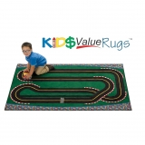 KID$ Value Line: Super Speedway Racetrack Rug