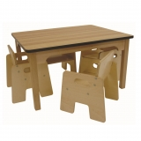 Wooden Toddler Table