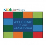 KID$ Value Line: Classroom Welcome Rug