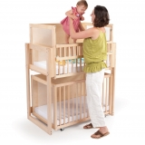 Space Saver Two Level Crib