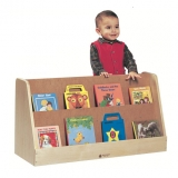 Toddler Book Display - Solid Maple