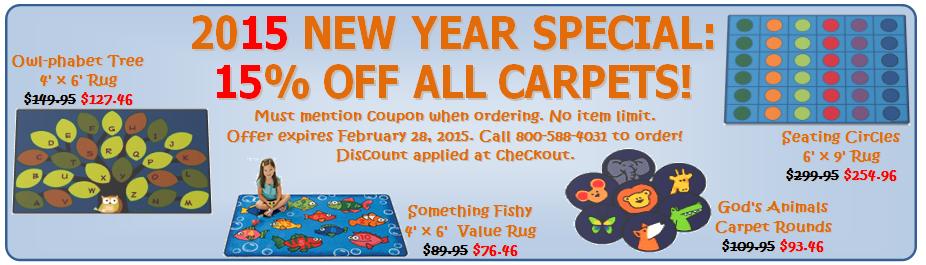 2015 Carpet Special