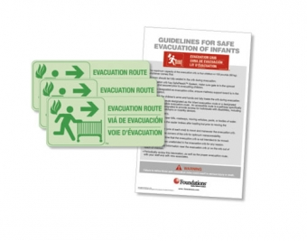 First Responder™ Evacuation Route Sign Kit