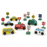 Vehicle and Traffic Sign Set