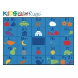 KID$ Value PLUS: Alphabet Seating Rug