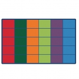 Colorful Rows Rug