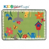 KID$ Value Line: Garden Time Rug