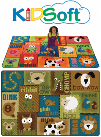 KIDSoft™ Animal Sounds Toddler Rug