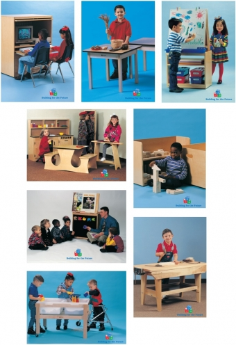 Learning Center Posters Set of 8