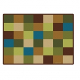 Nature's Color Collection: Nature Blocks Seating Rug