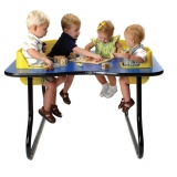 Four Seat Space Saver Toddler Table