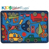 KID$ Value Line: Wheels on the Go Rug