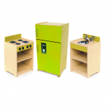 Contemporary Green Toddler Kitchen Pieces