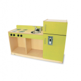 Contemporary Green Toddler 3-in-1 Kitchenette