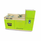 Contemporary Green 3-in-1 Kitchenette
