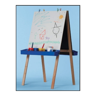 Easel — White Markerboard