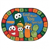 God Made You Special VeggieTales® Rug