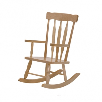 Exceptional Solid Maple Rocking Chair