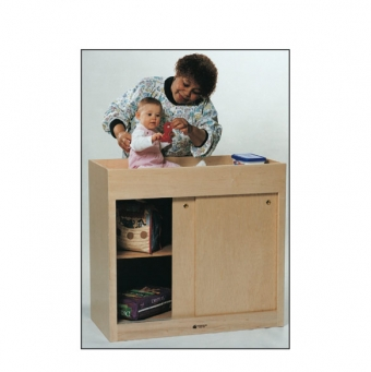 Changing Table with Doors