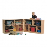 Mobile Storage - Two Shelf, Hinged