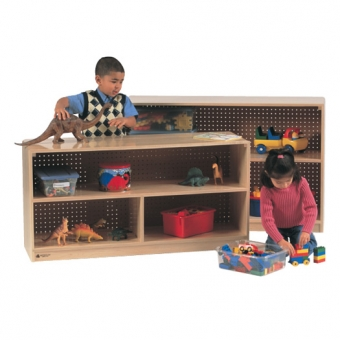 Open Storage - Solid Maple