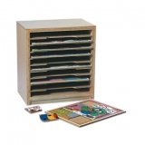 Ten Compartment Puzzle Rack