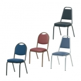 Virco Upholstered Stack Chairs