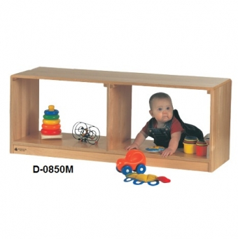 Toddler See-Thru Storage